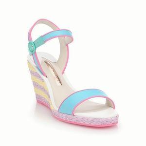 Sophia Webster Lucita Pastel Espadrille Sandals